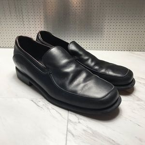 Salvatore Ferragamo Leather Slip on Loafers Shoes